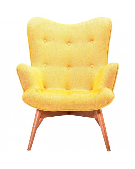 SILLON ANGELS WINGS MUSTARD