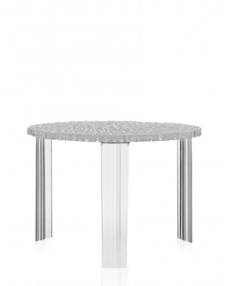 MESITA T-TABLE D.50X36H TRANSPARENTE