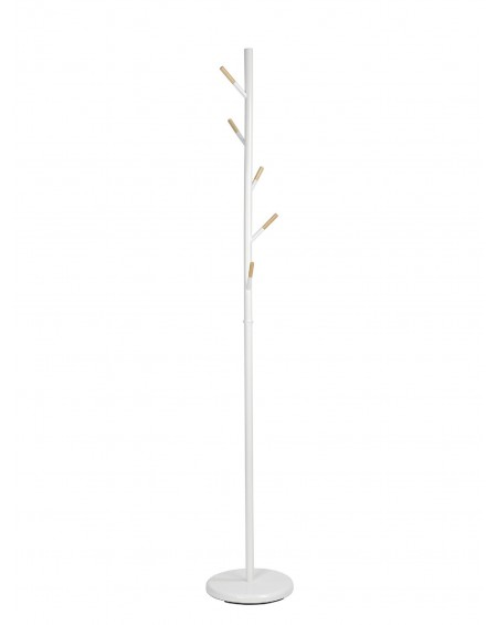PERCHERO TREE METAL BLANCO / MADERA