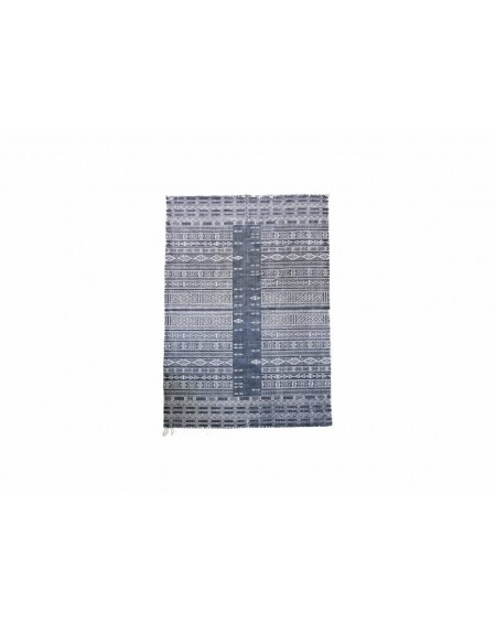 ALFOMBRA JULIA 160X230 BLANCO/NEGRO