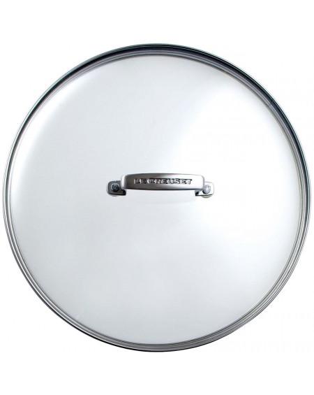 Le Creuset - Tapa de cristal de 24 cm. Diámetro