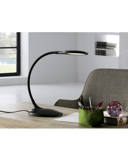 LAMPARA LED SCOOP NEGRO