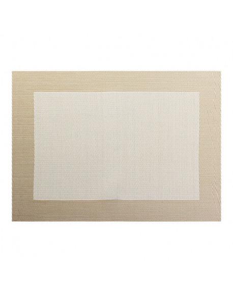 INDIVIDUAL 33X46 BLANCO PVC