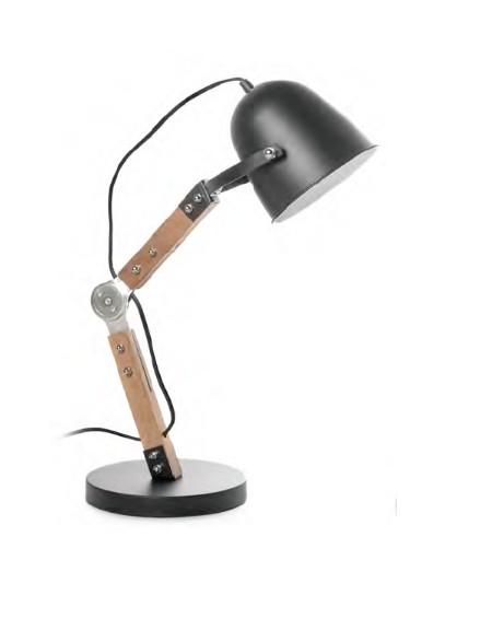 LAMPARA MESA BIG BELL NEGRO