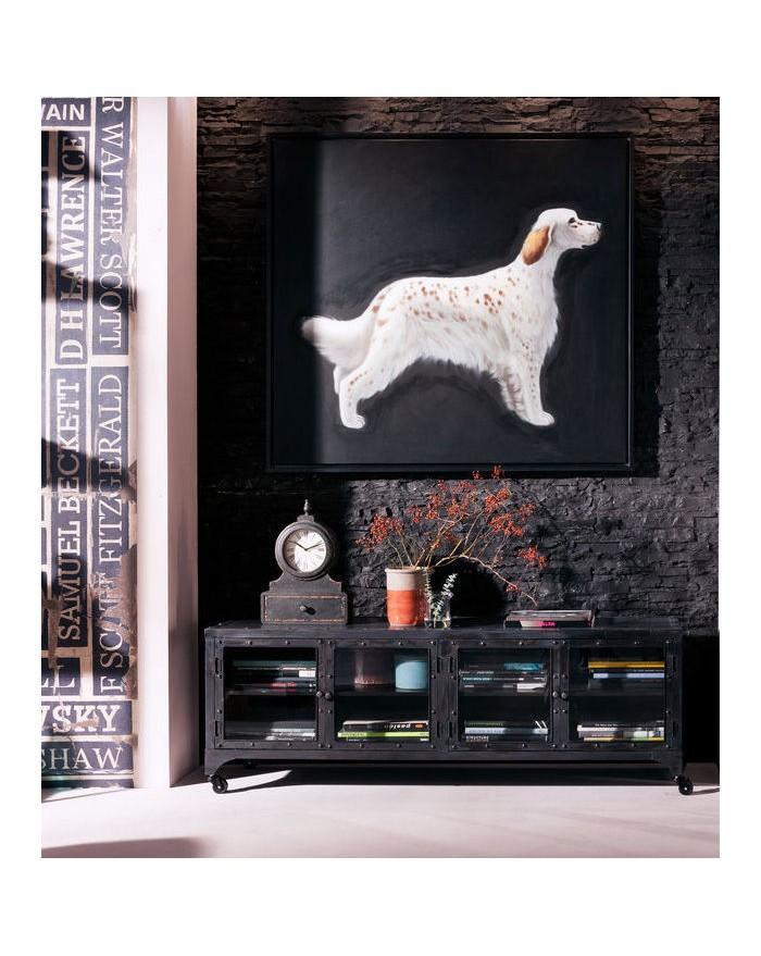 mueble factory tv board metal. Black Bedroom Furniture Sets. Home Design Ideas