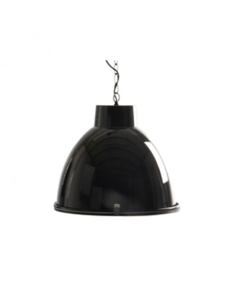 LAMPARA SUSPENSION INDUST 42D CRISTAL NEGRO