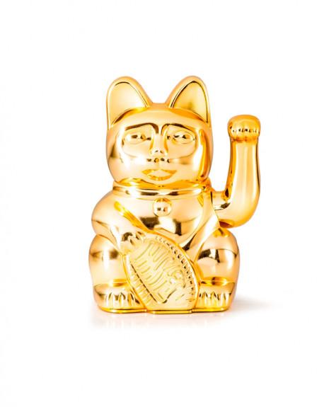 GATO DE LA SUERTE GLOSSY GOLD