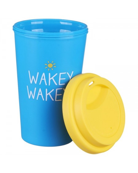 TRAVEL MUG WAKY WAKEY