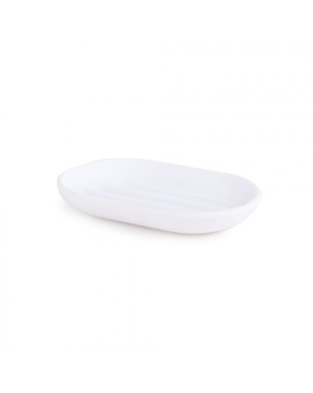TOUCH SOAP DISH WHITE
