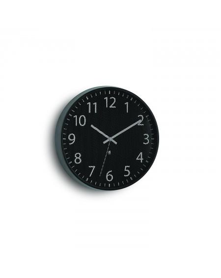 Umbra Perftime - Reloj de pared, color negro
