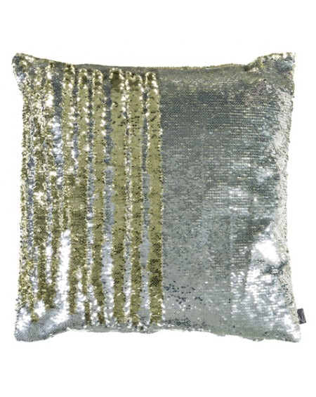 COJIN MERMAID 45X45 PLATA/ORO