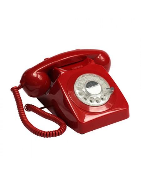 TELEFONO GPO 746 ROJO