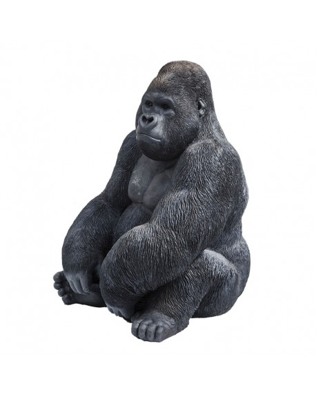 FIGURA DECORATIVA GORILLA SIDE XL