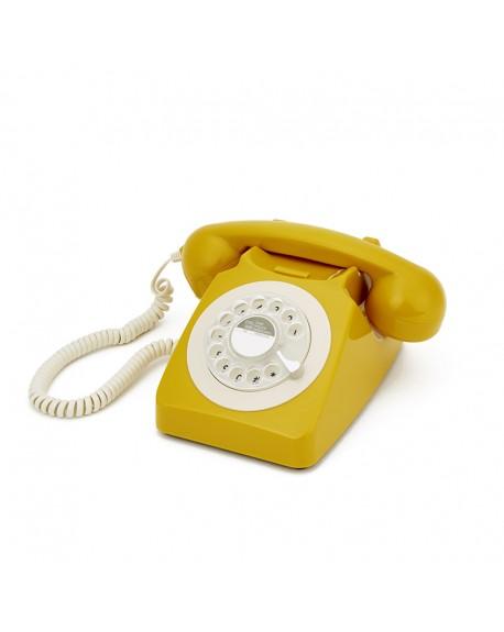 TELEFONO GPO 746 MOSTAZA