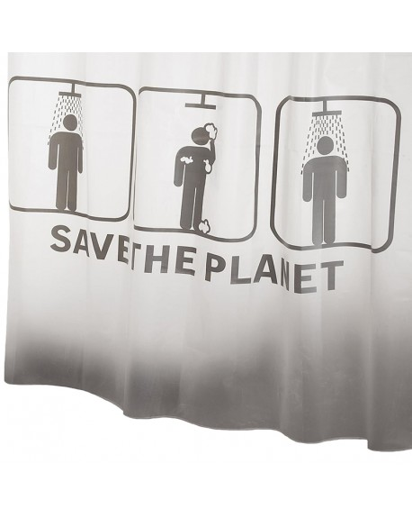 CORTINA BAÑO SAVE THE PLANET 180*200