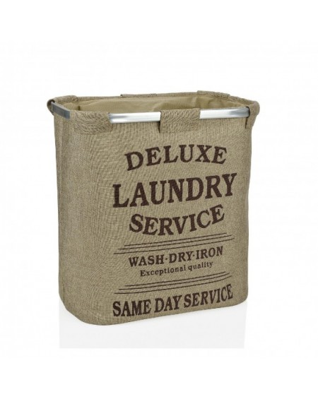LAUNDRY DOBLE 50X30X54 BEIGE