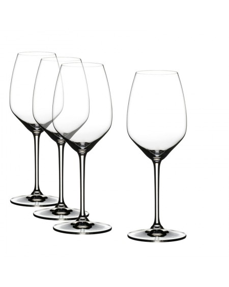 SET 4 COPAS VINO BLANCO HEART