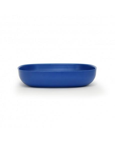 BOWL PASTA BIOBU GUSTO 21X21X4.5CM ROYAL BLUE