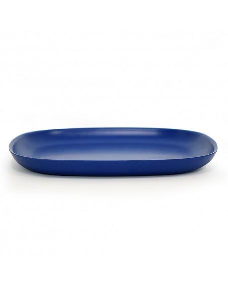 PLATO BIOBU GUSTO 28X28 ROYAL BLUE