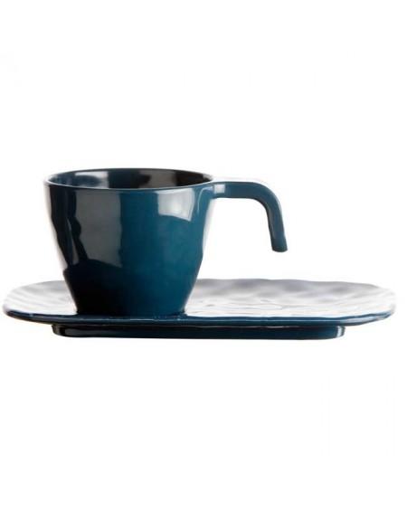 TAZA CAFÉ Y PLATO LAGOON HARMONY