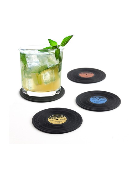 POSAVASOS THE COASTER X4 SILICONA