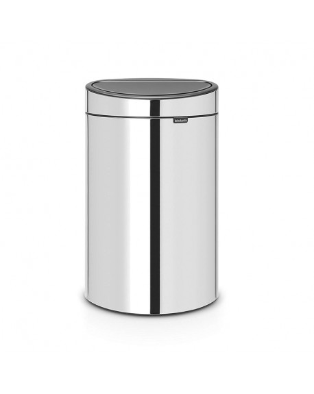 CUBO TOUCH BIN NEW 40L ACERO BRILLO