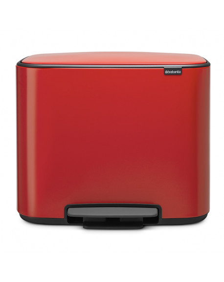 CUBO PEDAL BO 11+23L PASSION RED